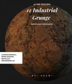 Industrial Grunge 4K Textures