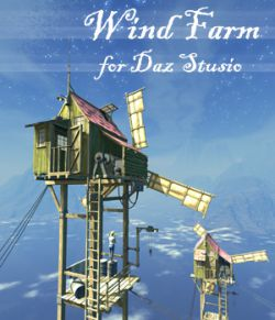 Wind Farm for Daz studio