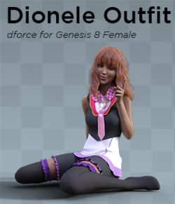 Dionele Outfit for Genesis 8 Female
