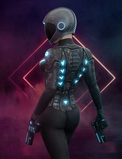 Nanosense Cyber Suit for Genesis 8 Female(s)