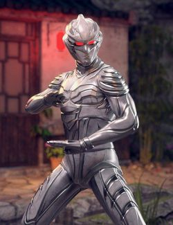 BaiHu- The White Tiger Outfit for Genesis 8 Male