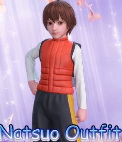 fantasy anime outfit 5_ Natsuo clothes_ for G3 G8 Males