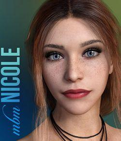 MbM Nicole for Genesis 3 & 8 Female