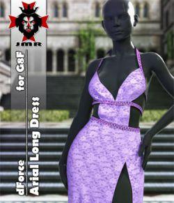 JMR dForce Arial Long Dress for G8F