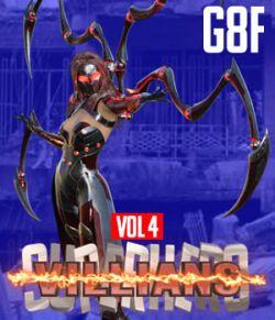 SuperHero Villians for G8F Volume 4