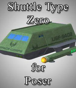 Shuttle Type Zero for Poser