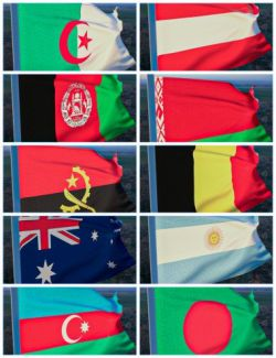 dForce Flags Of The World Collection