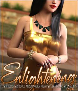 Enlightening for dforce Midsummer Nights for Genesis 8 Females