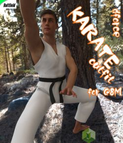 dForce KARATE outfit for G8M