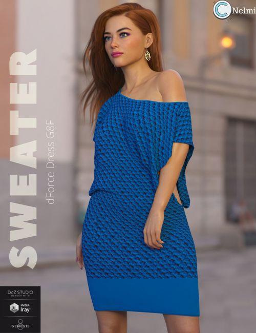 Sweater Dress G8F