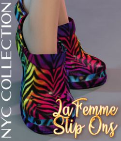 NYC Collection: La Slip Ons-2
