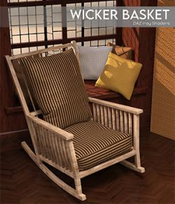 Daz Iray - Wicker Basket