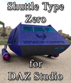 Shuttle Type Zero for DAZ Studio