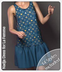 Nadja Dress for La Femme