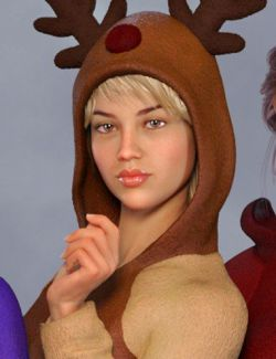 Animal Onesie Outfit for Genesis 8 Female(s)