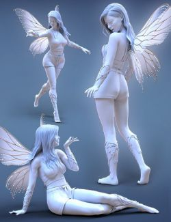 iV Fairy Magic Poses for Genesis 8 Female(s)