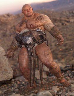 dForce Deadlands Wear for Genesis 8 Male(s)