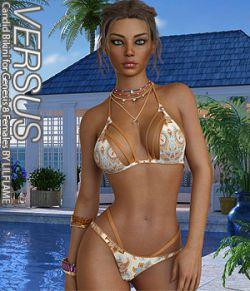 VERSUS - Candid Bikini for Genesis 8 Females