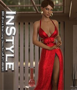 InStyle- JMR dForce Arial Long Dress for G8F