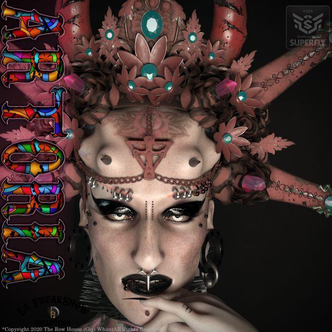ARTORIA La Freak Headdress - POSER-LA FEMME