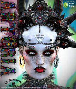 ARTORIA La Freak Headdress- DAZ