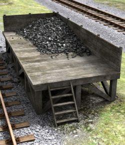 Railway Coaling Stage