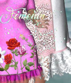 DA-Feminin for Mary Dress