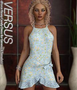 VERSUS - dForce Kasey Candy Dress for Genesis 8 Females