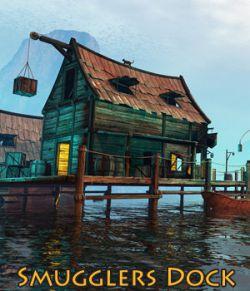 Smugglers Dock for Daz studio
