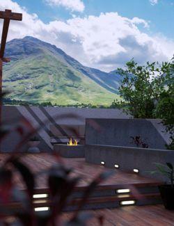 MountainScapes Backdrops Volume 4