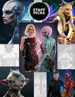Staff Picks Sci-Fi Bundle