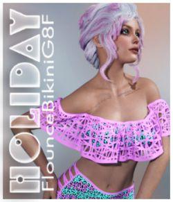Holiday Flounce Bikini G8F