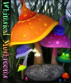 SVs Whimsical Mushrooms DAZ Studio