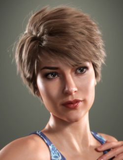 SP Hair 012 for Genesis 3 and 8 Female(s)