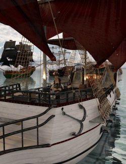 PW Customizable Pirate Ship