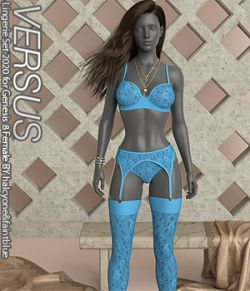 VERSUS - Lingerie Set 2020 for Genesis 8 Female