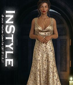 InStyle- dForce- Harlow Gown for G8F