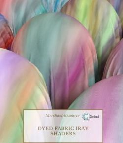 Dyed Fabric Iray Shaders