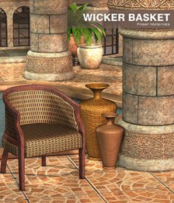 Poser - Wicker Basket