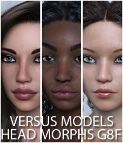 VERSUS MODELS - Head Morphs for G8F Vol3