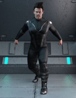 Galactic Hero Poses for Genesis 8 Male
