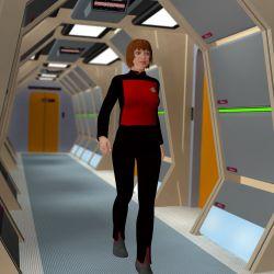 Futuristic Hallways for Poser