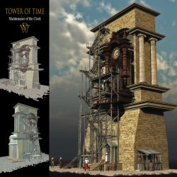 MS20F Tower of Time  - Obj