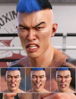 Wrestler - Expressions for Genesis 8 Male and Kwan 8