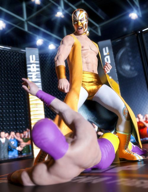 Get In the Ring Wrestling Bundle
