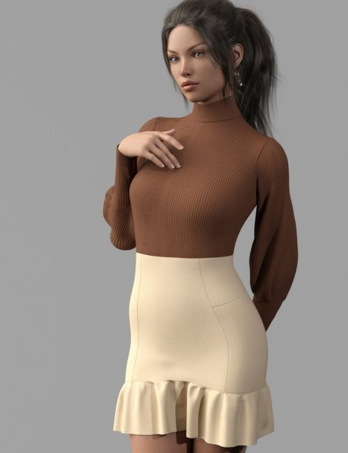 dforce Sasshire Outfit for Genesis 8 Female