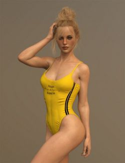 X-Fashion Inspire Bathsuit for Genesis 8 Female(s)