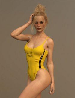 X-Fashion Inspire Bathsuit for Genesis 8 Female(s)