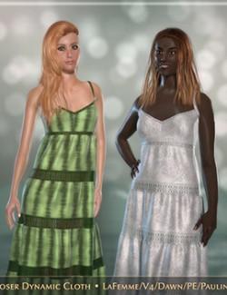 FRQ Dynamics: Tiered Strap Dress