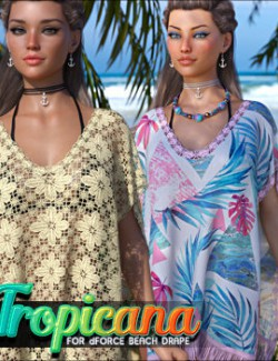 Tropicana for dForce Beach Drape G8F